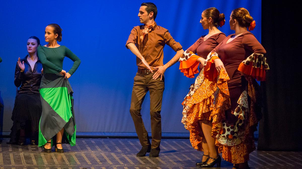 Paseo Danza Española 2014 Maribel Montes