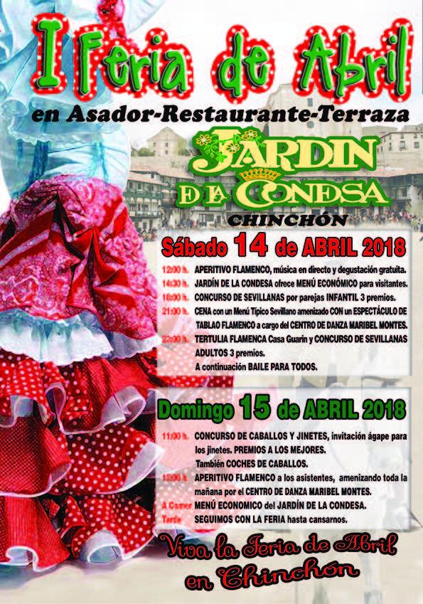 Feria de Abril 2018 Chinchón